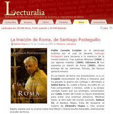 Sitio web de Lecturalia