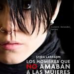 Afiche publicitario de la película, con el personaje de Lisbet Salander