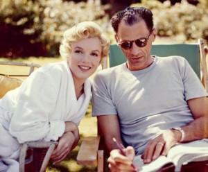 Marilyn y su marido, el dramaturgo Henry Miller