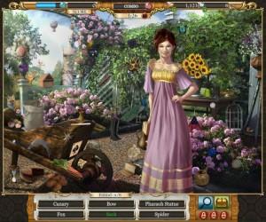 Jane Austen en una de las escenas del juego