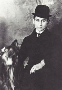 Kafka, en sus años mozos. Fotografía anónima de 1905