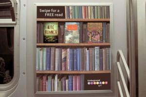 Así lucen los libros en la estantería virtual