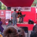 El cantautor chileno Francisco Villa anima al público