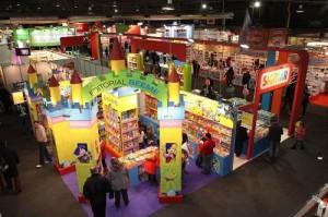 Como es de esperar, la sección infantil de la Feria es una de las que más atrae público