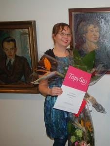 Salla Simukka ganadora del premio