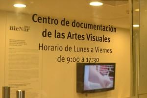 Así luce la entrada del Centro de Documentación