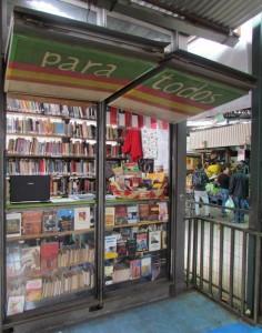 Así luce el  kiosko del Fruto de los Libros en La Vega