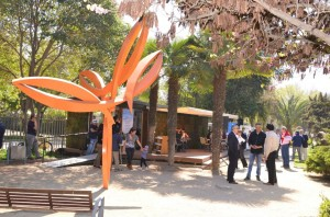 Café al Aire Libro en Plaza Las Esculturas