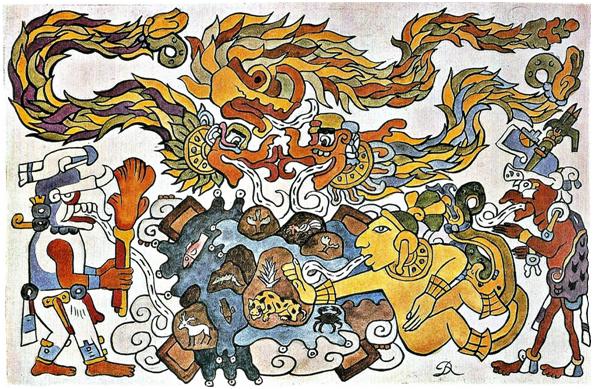 La Creación del Universo - Diego Rivera