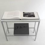 Detalle de uno de sus libros de artista