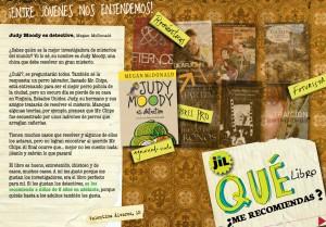 """Sección """"Qué me recomiendas"""" de revista JIL"""