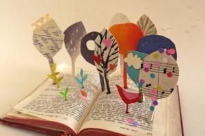 """Isabel ilustró uno de los motivos de la campaña """"Un libro, infinitas lecturas"""""""