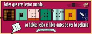 #somoslectores Hastag de la FIL