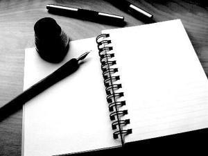 ¿Què sentirà un escritor al enfrentarse a una pàgina en blanco?