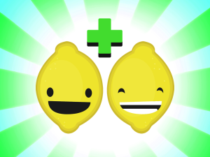 La expresión de los limones indica el resultado de una fase del juego