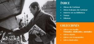 Imagen que acompaña la portada de la biblioteca digital de Cortázar