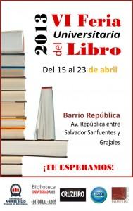 Afiche de promoción del año 2013