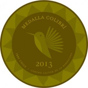 Versión 2013 de la Medalla Colibrí