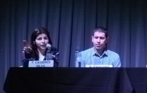 Fanny Caviedes y Mauricio Paredes