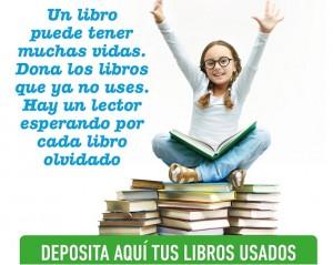 Se pueden hacer campañas para recolectar libros en cada curso
