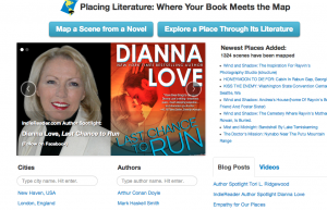 Así luce la portada del sitio web