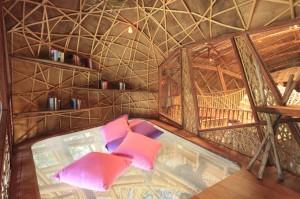 Interior de una de las salas
