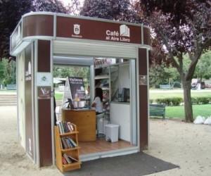 Así luce un Café al Aire Libro